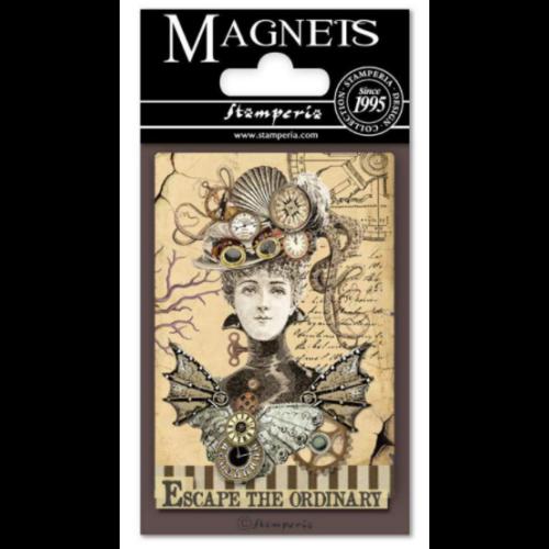 Magnet 8x5,5 cm - Voyages Fantastiques Woman