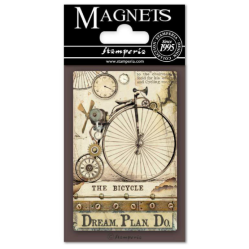 Magnet 8x5,5 cm - Voyages Fantastiques Bicycle