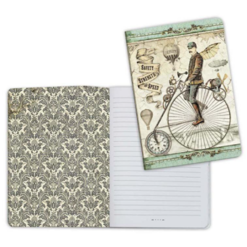 Notebook A5 - Voyages Fantastiques Bicycle