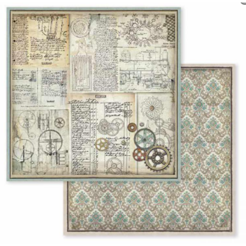 Kétoldalas papír - Voyages Fantastiques gears