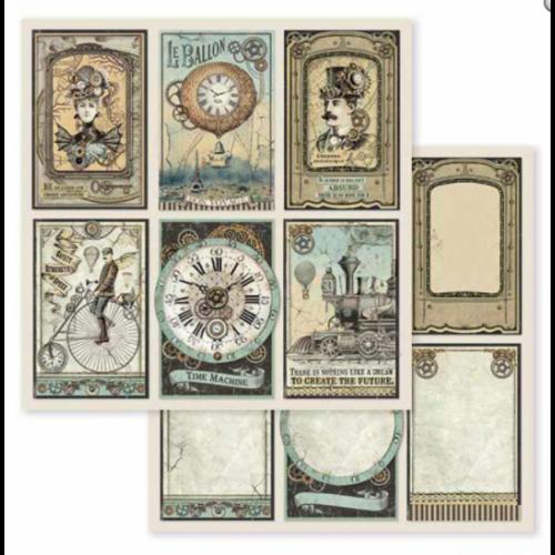 Kétoldalas papír - Voyages Fantastiques cards