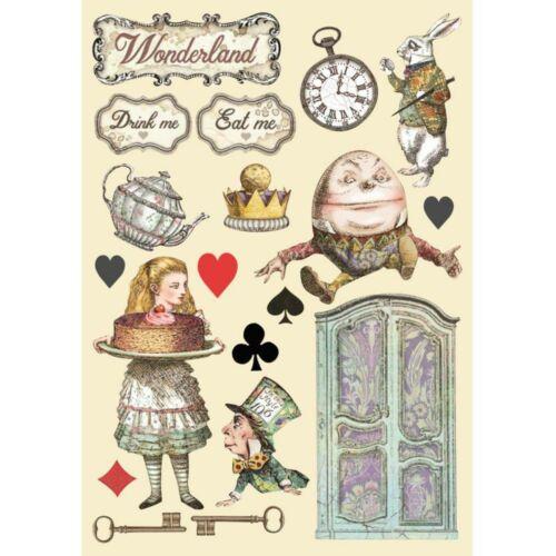 Színes falap A5 - Alice süti