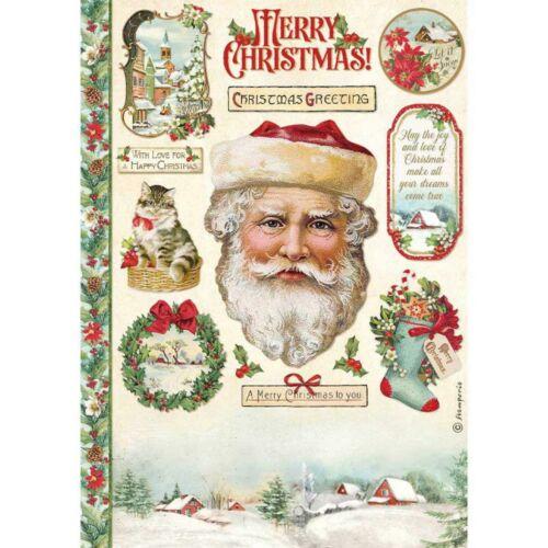 A4 rizspapír csom.  Klasszikus Karácsonyi Mikulás
