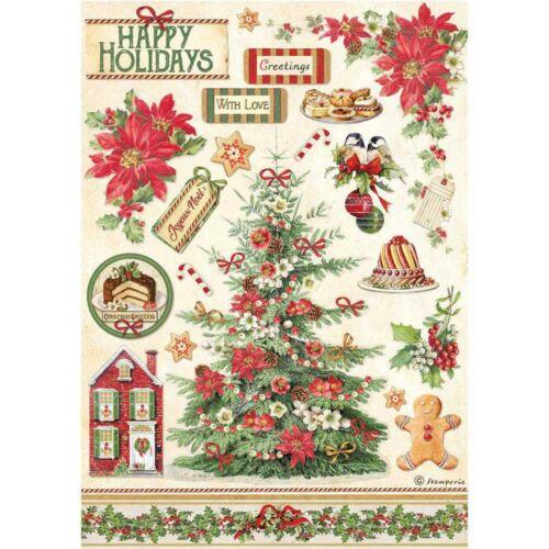 A4 rizspapír csom.  Klasszikus Karácsony fa
