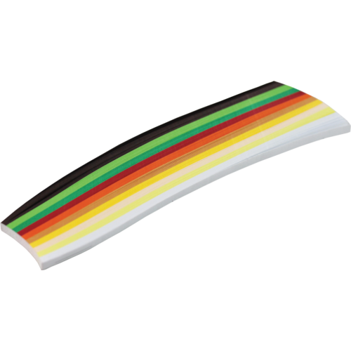 Quilling papír szett - 300 darabos 18 cm x 5 mm
