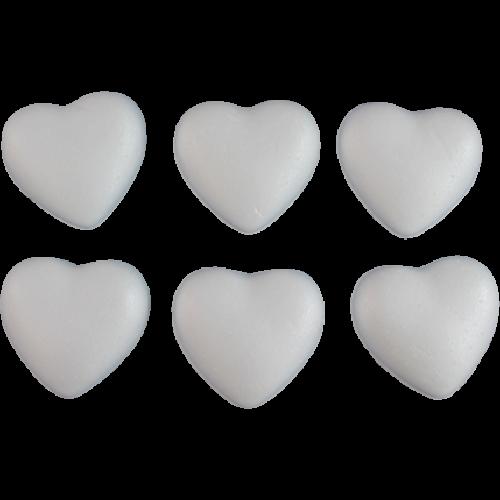 Pentart Szív polisztirolok