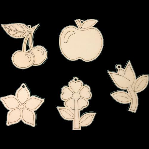 Pentart Fafigurák - növények
