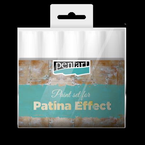 Pentart Patina hatás festék szett