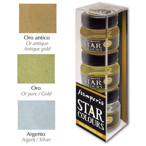 Stamperia Star Color 3x30 ml