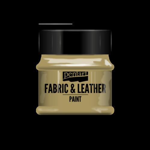 Pentart Textil és bőrfesték - csillogó színek